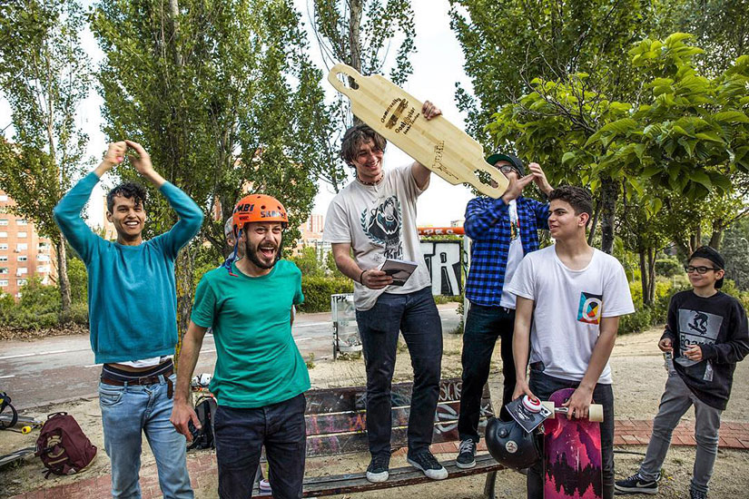 Video Snake Session Longboard Madrid podium