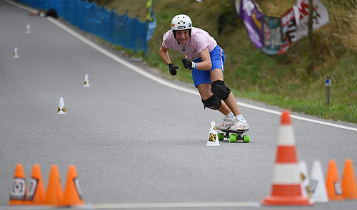 Leo Fernandez slalom