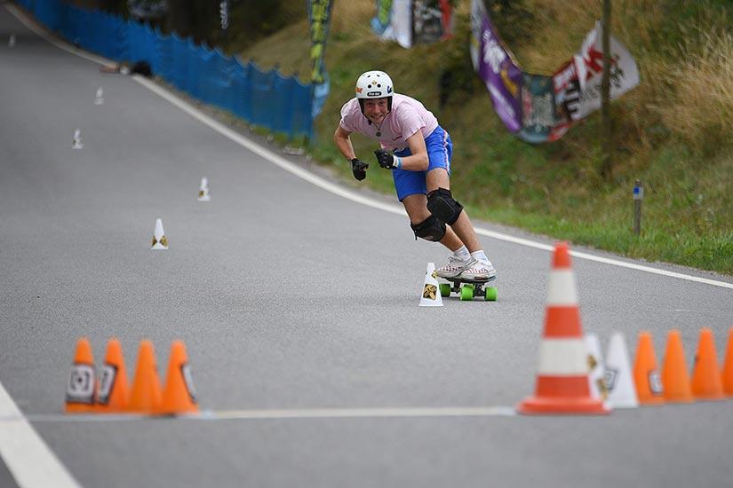 Leo Fernandez Slalom-Foto Sk8 Policka