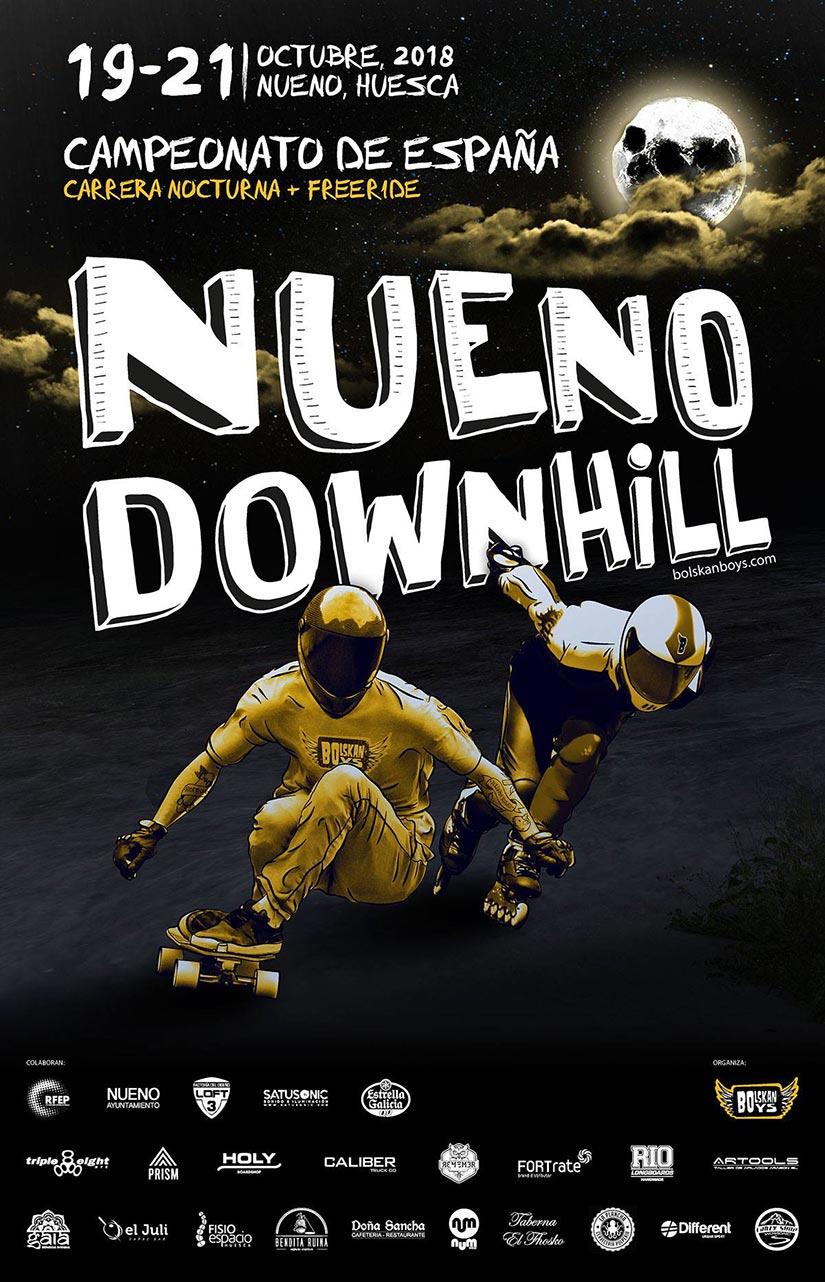 Nueno Downhill 2018 cartel