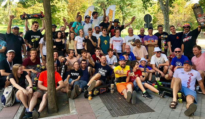Campeonato de Europa de Slalom 2018 riders