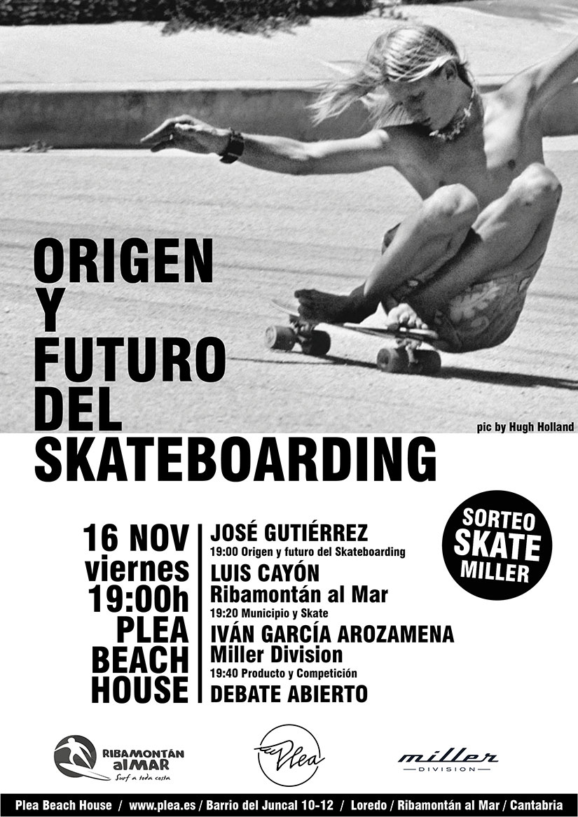 Debate Origen y Futuro del Skateboarding
