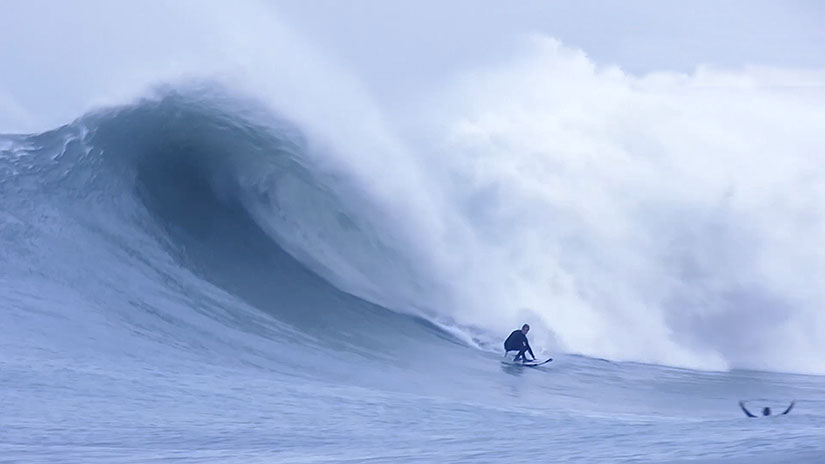 Documental Big Wave in The Basque Country