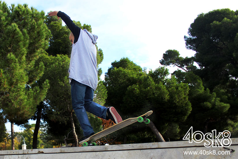 Eloi Pujol bate el record de Nose Manual One Foot
