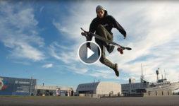 Nikita Dvortsov longboard dance en San Petersburgo Destacada