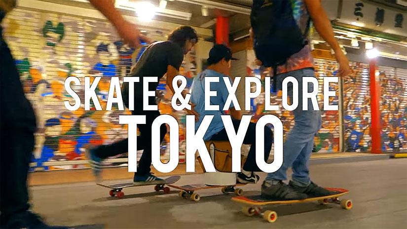 Skate & Explore Tokyo