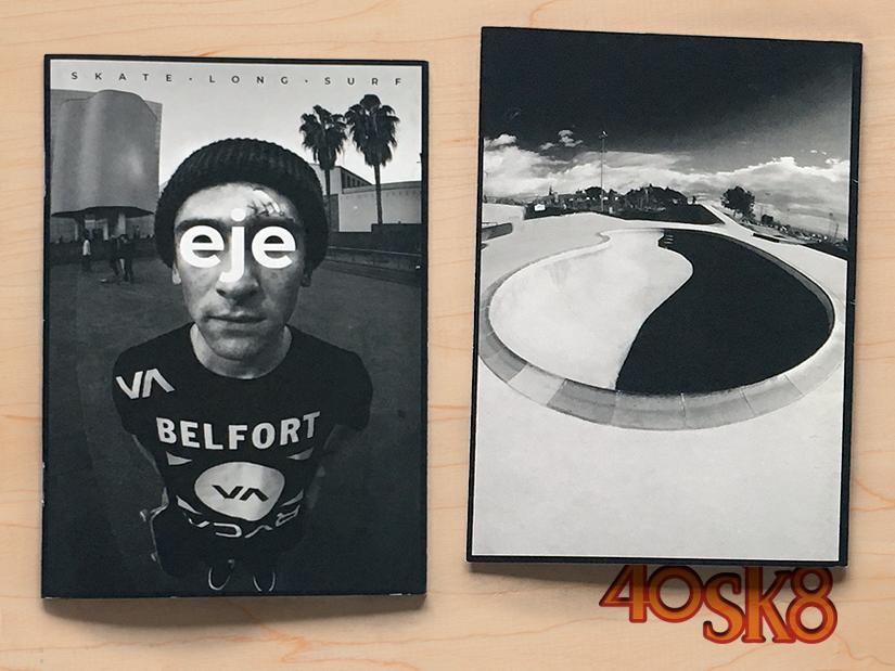 Eje Fanzine: Revista de Skate - Longboard - Surf