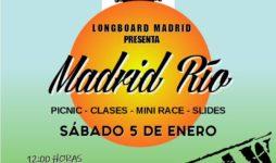 Madrid Rio Outlaw Longboard Madrid