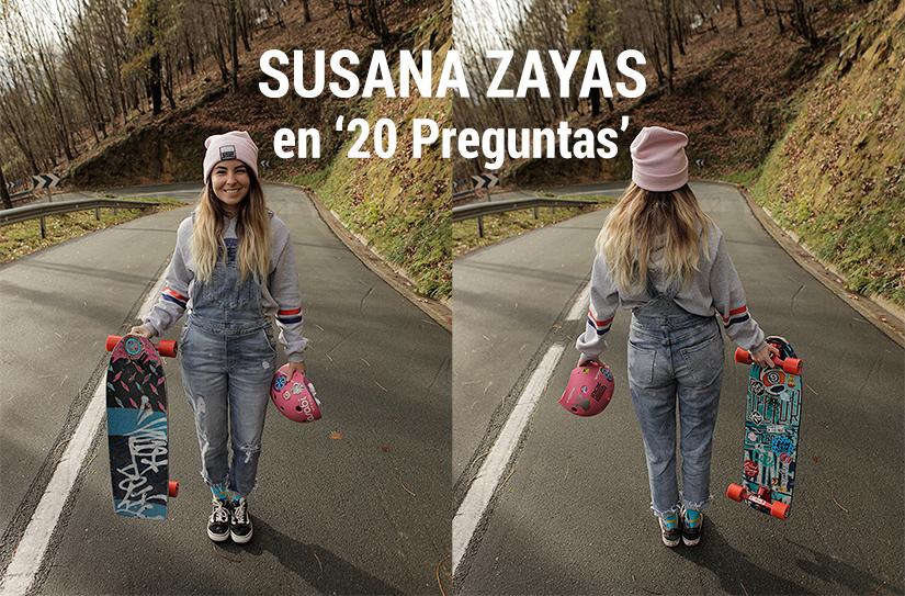 Susana Zayas en 20 preguntas