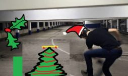 Christmas Car Park Skate