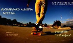 Longboard Almeria Meeting diversur enero 2019