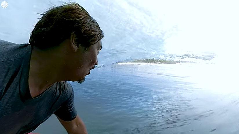Tubos en 360º desde al cámara de Mikala Jones en Mexico