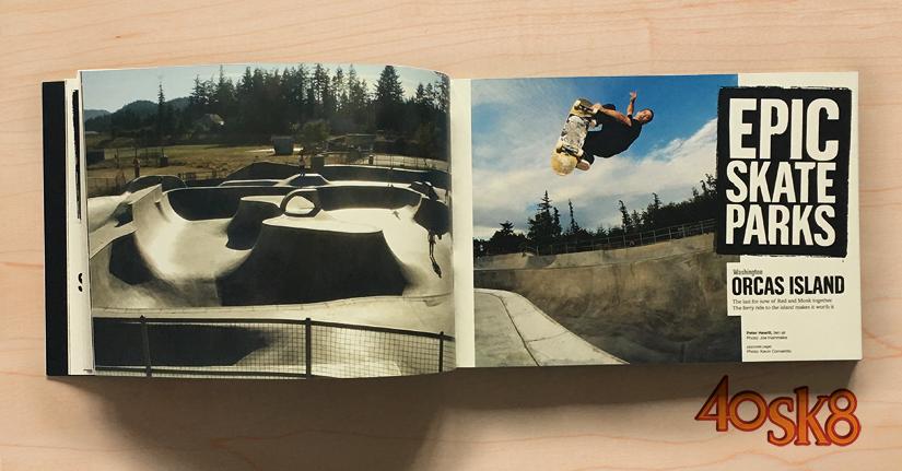 libro Thrasher epic spots epic skate parks