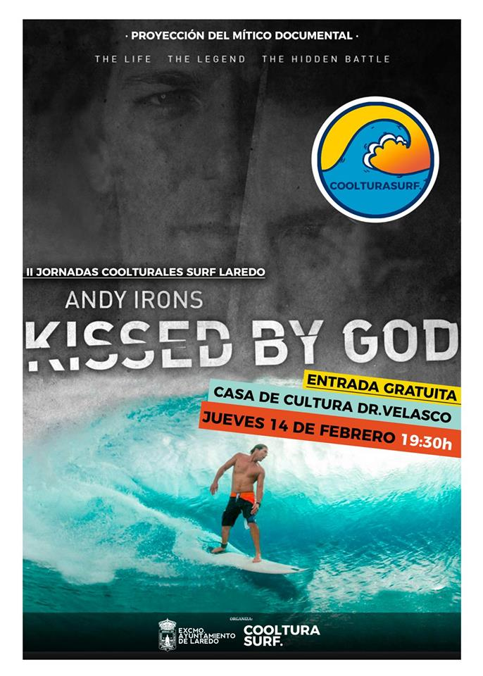II Jornadas 'Cooltura Surf' Laredo Andy Irons Kissed by God