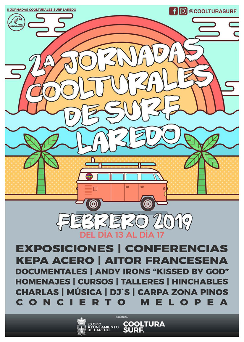 II Jornadas 'Cooltura Surf' Laredo