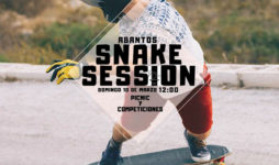 Snake Session Abantos con Longboard Madrid
