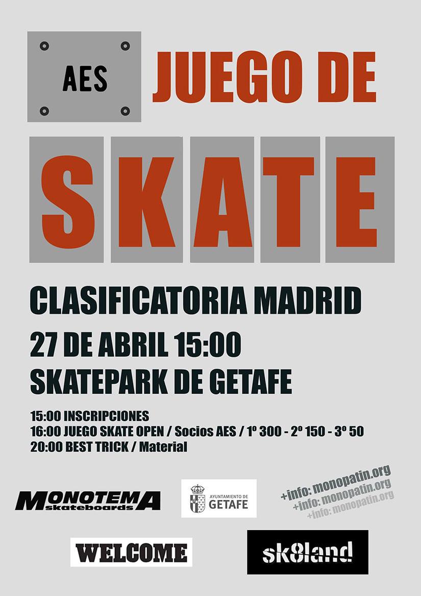 AES Juego de Skate (clasificatoria Madrid)