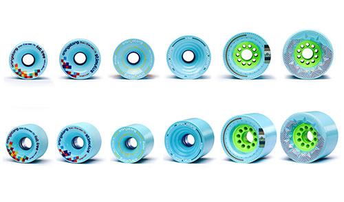 Las nuevas ruedas Orangatang Blue 77a destacada