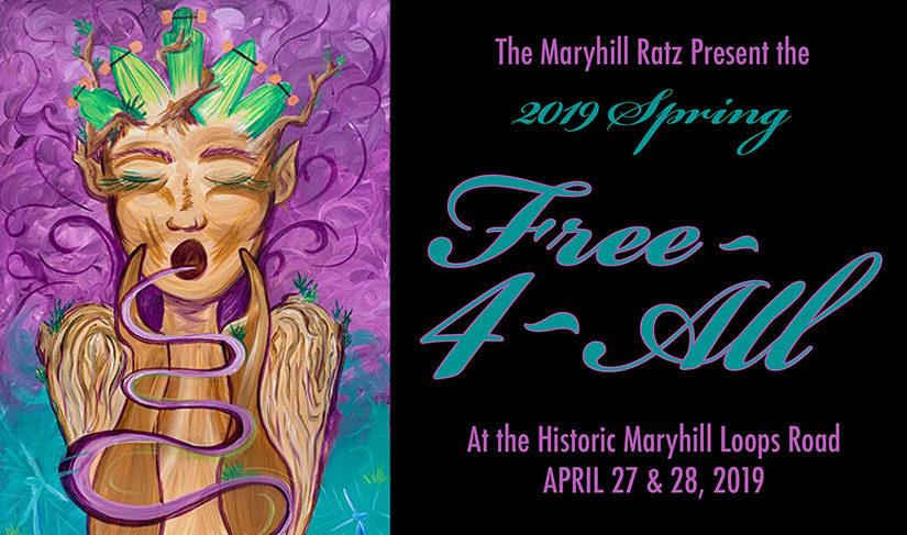 The Maryhill Ratz 2019 Spring Free-4-All