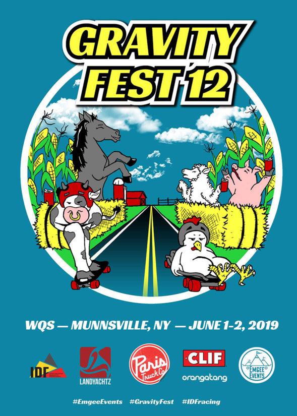 Gravity Fest IDF WQS 2019 - DH Race & Freeride