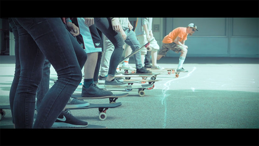 Simple Longboards Goes Vienna Video de Peter Lahr