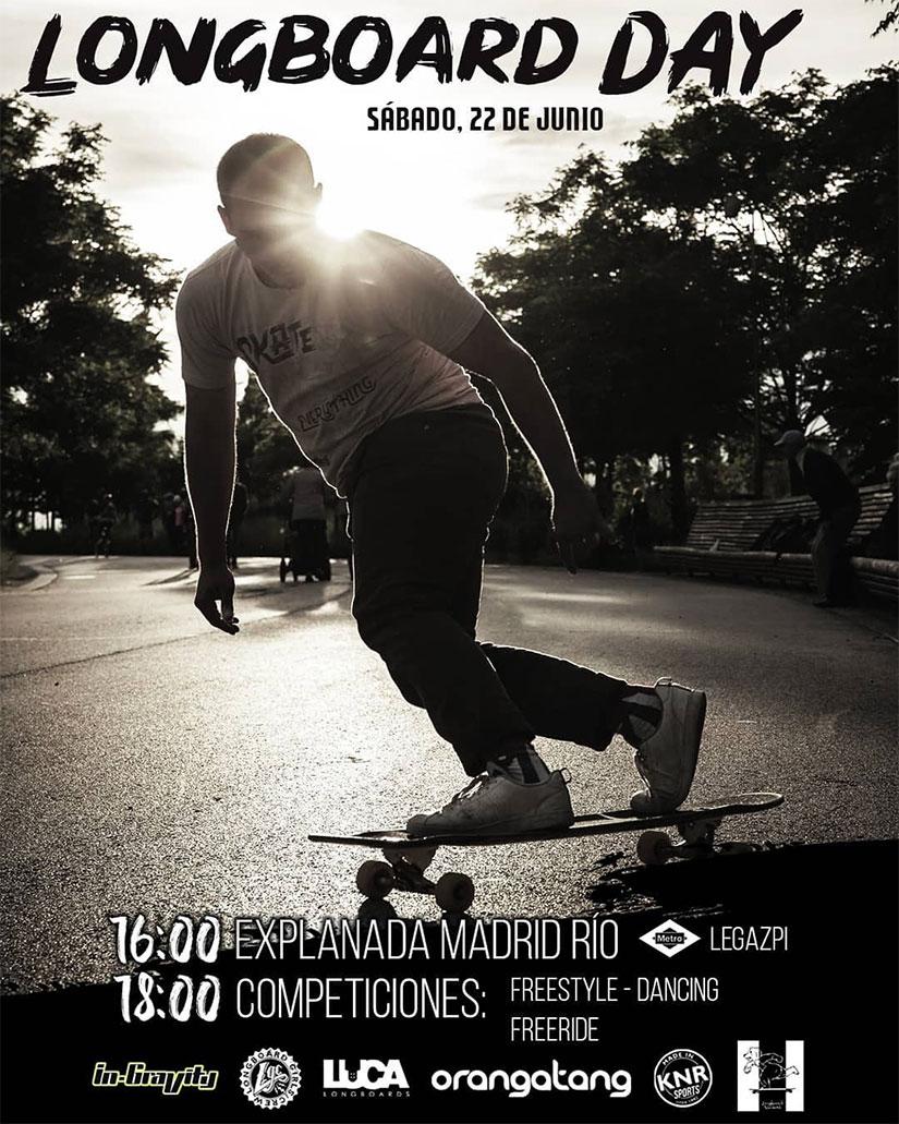 Longboard Madrid celebra el Longboard Day
