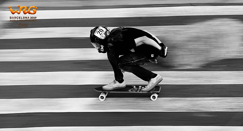 World Roller Games 2019 descenso longboard