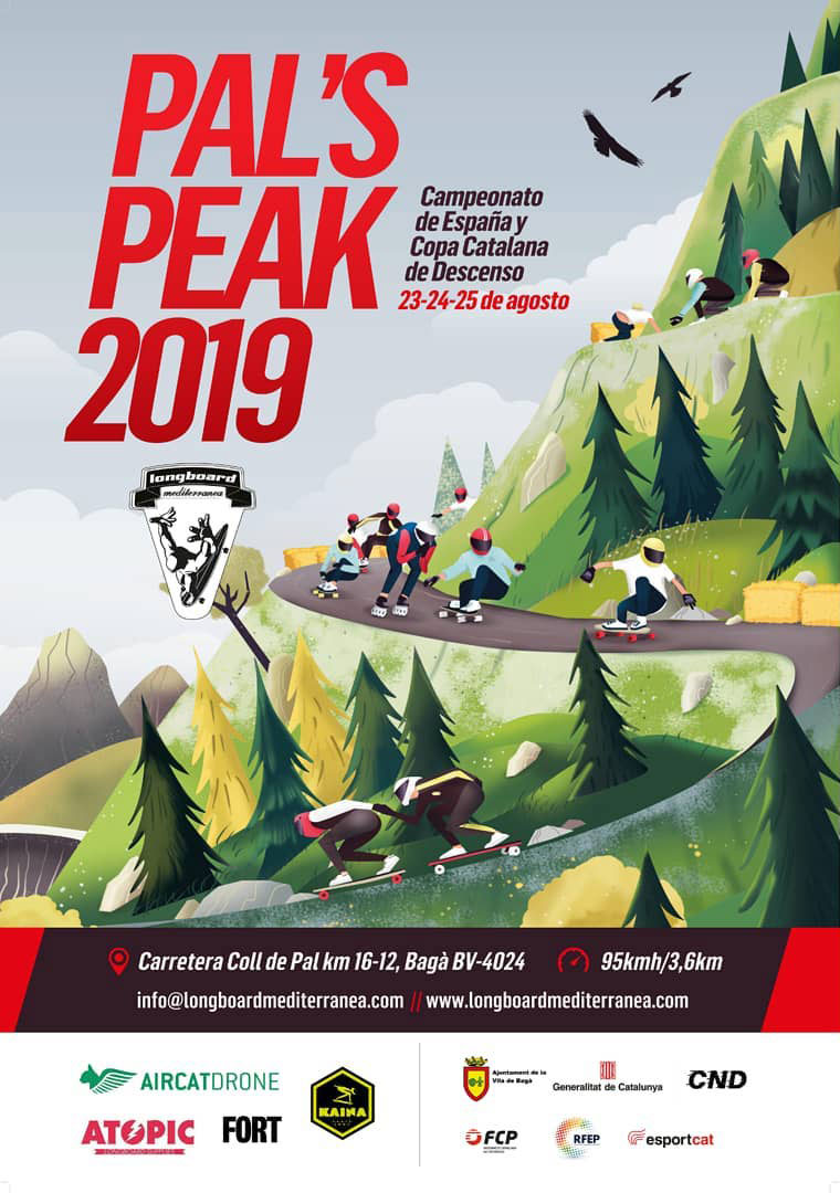 Pal's Peak 2019 Longboard Mediterranea