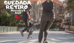 Quedada en el Retiro por Longboard Madrid