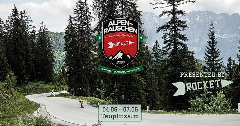 Alpenrauschen 2020 presented by Rocket Longboards