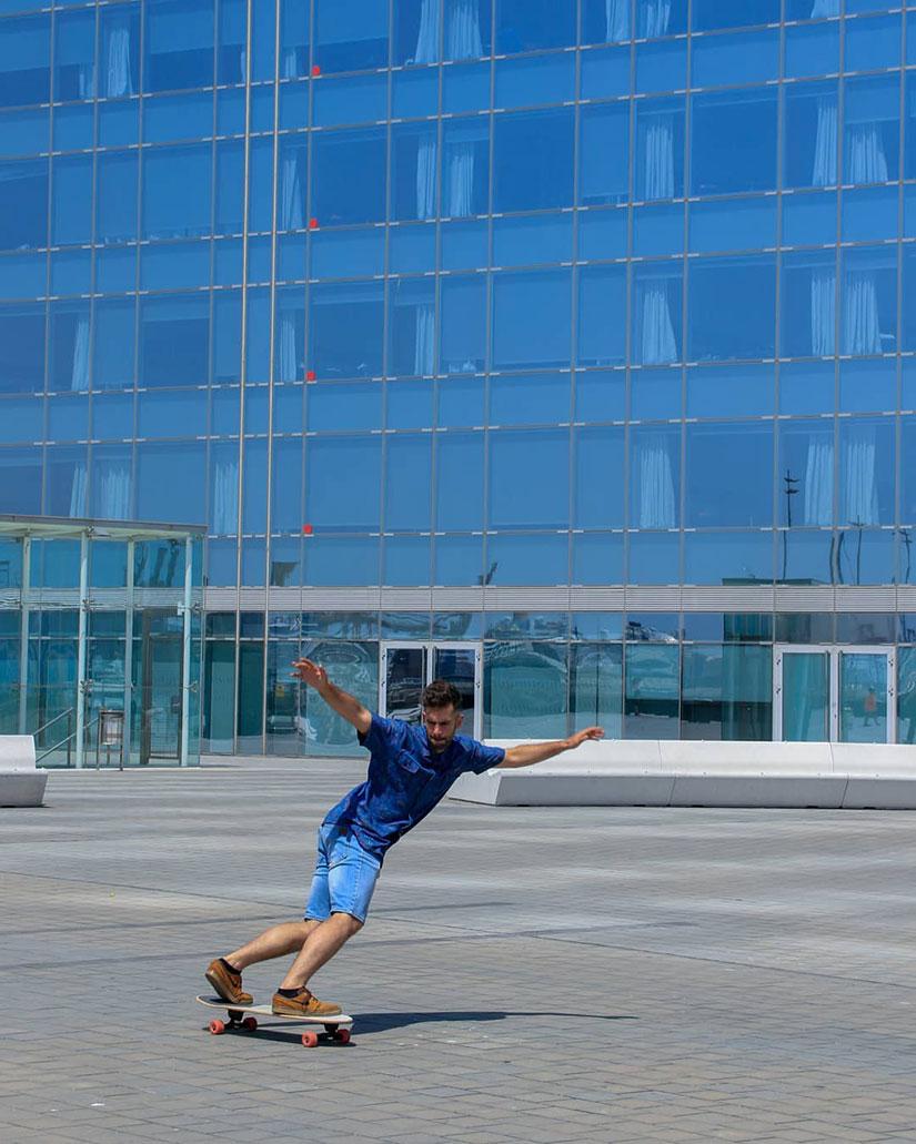 Curso de Tecnicos de Skateboarding por Alfred Cano Bipo