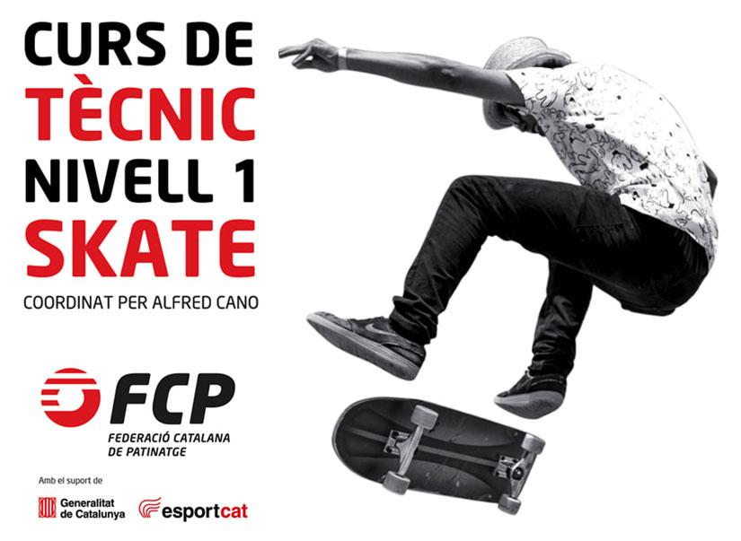 Curso de Tecnicos de Skateboarding por la Federacion Catalana
