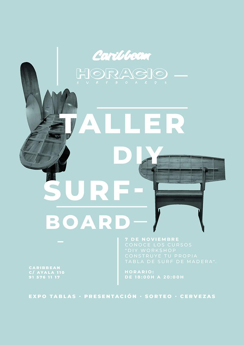 Taller DIY Surfboards Horacio en Caribbean