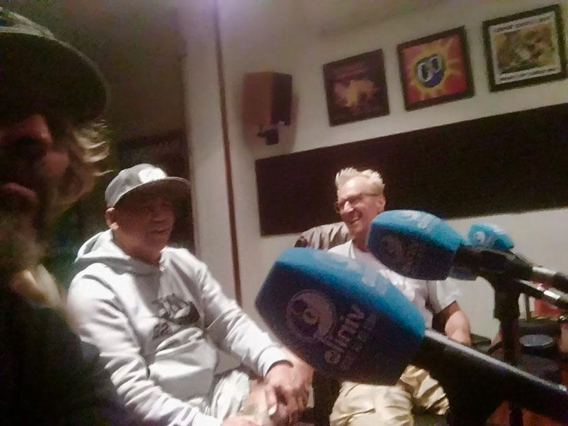 Doug en Vinilo FM con Lurta Nikolas