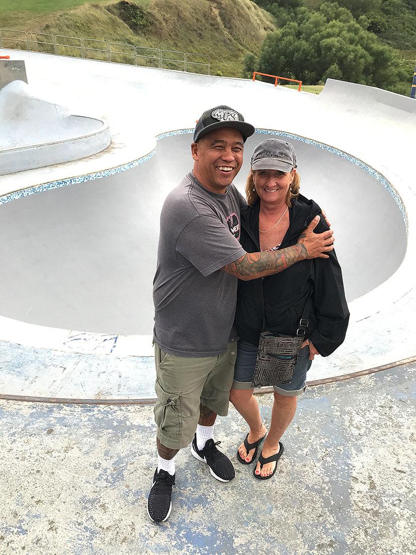 Doug y Cindy Saladino en La Kantera