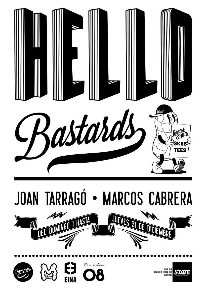 hello bastards exposicion joan tarrago marcos cabrera state barcelona