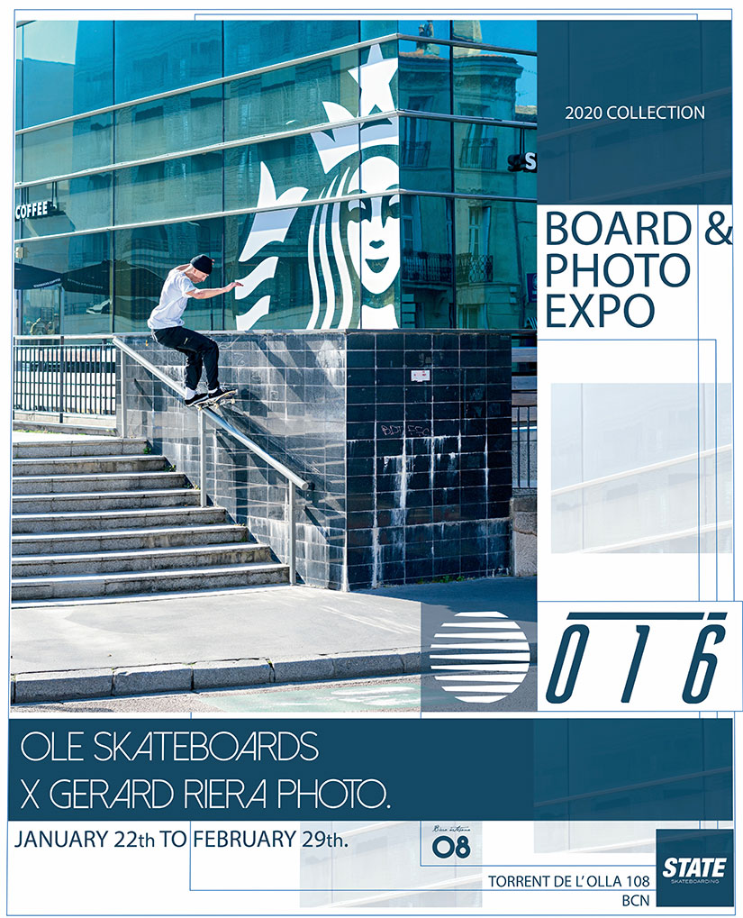 Exposicion Ole Skateboards ╳ Gerard Riera Photo
