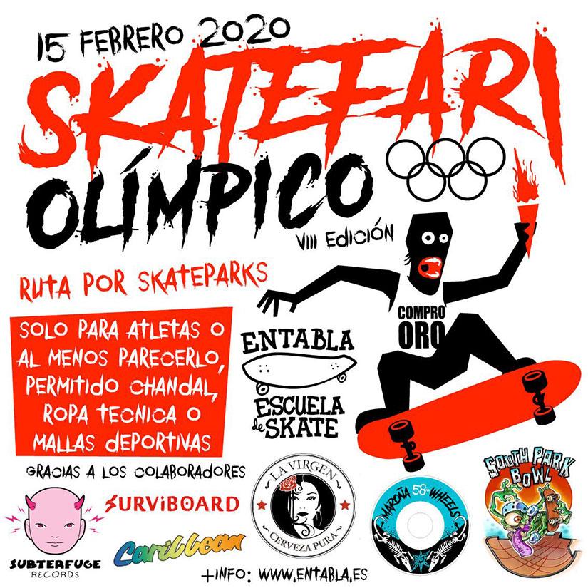 Skatefari Olimpico 2020