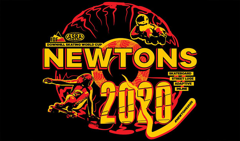 40sk8 Newtons 2020 IDF World Cup