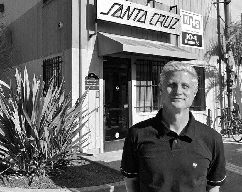 40sk8 Visita al museo de Santa Cruz Skateboards con Jeff Kendall