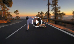 Nikolay Keller downhill en Tenerife destacada