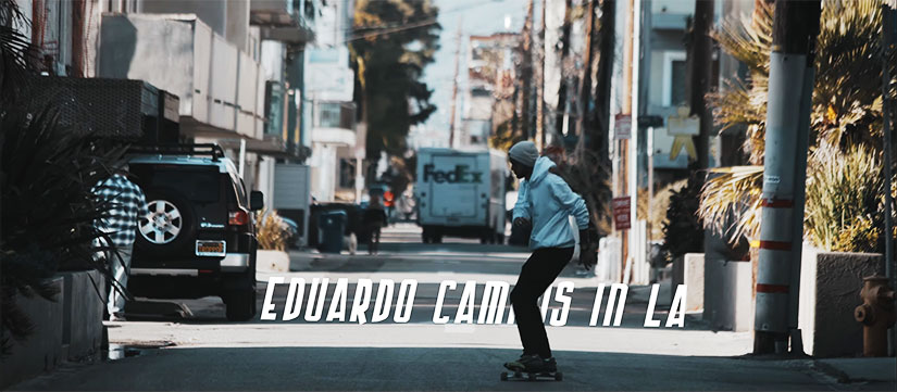 Video de Eduardo Campos Longboard en Los Angeles