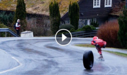 40sk8 XBoard X2 Festivalen 2019: Downhill longboard in Norway