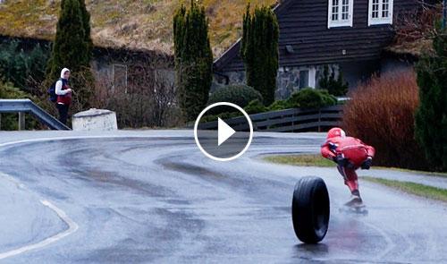 40sk8 XBoard X2 Festivalen 2019: Downhill longboard in Norway