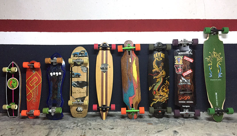 Quiver de Amu de Guga Trucks Top bottom