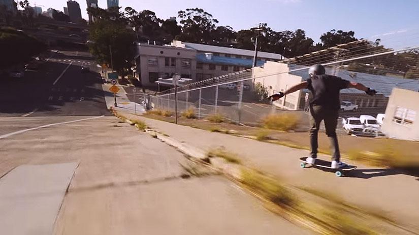 VIDEO: Fin de semana de longboard por San Diego