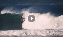 Las olas gigantes de Santa Marina del huracan Epsilon D